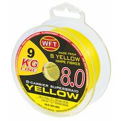 Серия WFT  8.0 KG Yellow 8-Carrier Round Braid